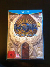 Bayonetta 2 First Print Edition para Nintendo Wii U. Pal version. PRECINTADO!!!!