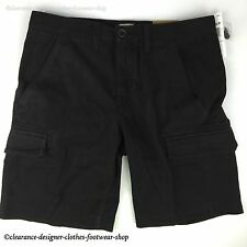 TIMBERLAND SHORTS MENS WEBSTER LAKE TWILL CARGO CLASSIC FIT BLACK SHORTS RRP £70