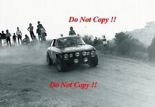 Giorgos Moschous Alfa Romeo 2000 GTV Acropolis Rally 1973 Photograph 1
