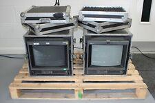 2x Vintage Transportable Sony Trinitron Colour Monitors in Flight Cases (GBL_22)