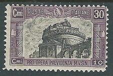 1928 REGNO MILIZIA 30 CENT MH * - Y204-2
