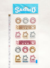 Vintage 1989, 1999 Sanrio Pochacco Collectible Scrapbook Stickers Rare Kawaii