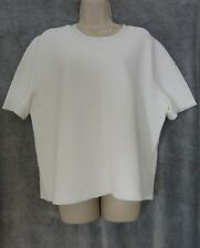 White  ribbed sweater by John Lewis NWOT