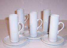 vintage mid century porcelain Schmid 5 sets demitasse cups saucer