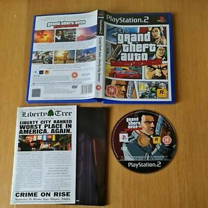 GRAND THEFT AUTO: LIBERTY CITY STORIES PLAYSTATION 2 PS2 PAL GAME COMPLETE