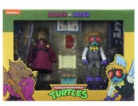 TMNT SPLINTER VS BAXTER STOCKMAN 2-Pack NECA Target Exclusive Ninja Turtles