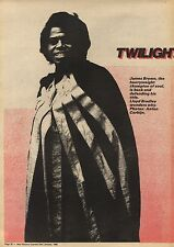 23/1/82Pgn22 Article & Picture(s) Souls James Brown 'twilight Of The Godfather'