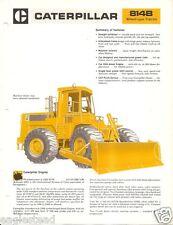 Equipment Brochure - Caterpillar - 814B - Wheel-type Tractor - c1981 (E2036)