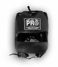 PROBoxing Traditional Leather Boxing Headgear Face Saver Bar
