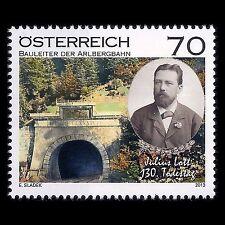 Austria 2013 - 130th Anniv Death of Julius Latt Trains Bridge - Sc 2436 MNH