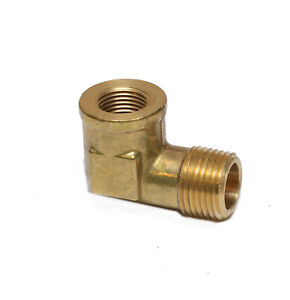Reducer 3/8 Female Npt x 1/2 Male Npt Forged Street Elbow Fitting Water Oil Gas