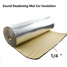 Cars Insulation Soundproofing Noise Isolate Deadening Heat Shield Mat 80
