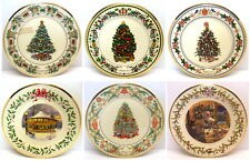 Lenox - Collection Of 6 - Annual Holiday Collector Plates w/originl boxes