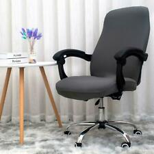 BEST Melaluxe Office COVER For Chair Universal Stretch Desk Protector Black NEW