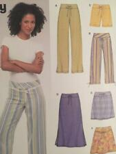 Look 6354 Size A Misses' Pants Sewing Pattern, Multi-Colour