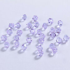 Jewelry making 100pcs 4mm #5301colorful Bicone Austria crystal beads