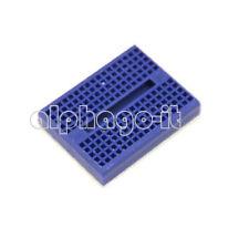 2PCS Mini Blue Solderless Prototype Breadboard 170 Tie-points for Arduino