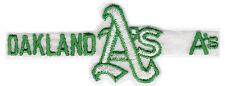 "1977-78 Oakland Athletics A'S MLB Baseball 5 "" Sportstripe Team Abzeichen"