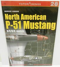 Kagero Publishing - Top Drawings 28 - North American P-51 Mustang   Book     New