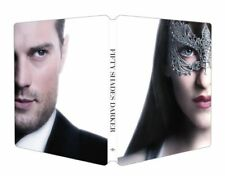 Fifty Shades Darker (Blu-Ray + DVD) Steelbook Case - VG