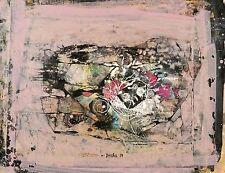 HEINZ DRACHE  - Ohne Titel - Tempera 1984