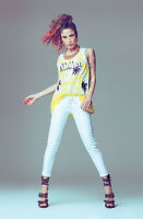 T-shirt, maglietta, col. bianco, art. 45dr62027, DENNY ROSE