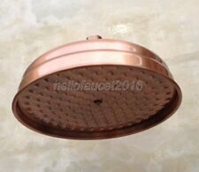 8 inch Round Antique Red Copper Bathroom Rainfall Shower Head  lsh054