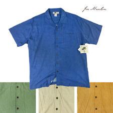Joe Marlin Big & Tall Men's Short Sleeve Button-Down Shirt