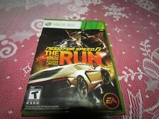 MICROSOFT XBOX 360 (2011) NEED FOR SPEED THE RUN L/E NEW FACTORY SEALED