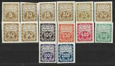 Czechoslovakia, Postage due Mi. 1-14