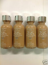 ( LOT OF 4 ) L'Oreal True Match Super Blendable Foundation #C7 CREAMY BEIGE NEW
