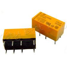 20 x DS2Y-S-DC12V AGY2323 NAIS 0.3A 1A 125VAC 110VDC 30VDC 8 Pins DPDT DIP Relay