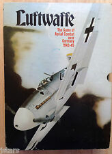 LUFTWAFFE WWII GERMANY B-17 AERIAL COMBAT GAME by AVALON HILL, 1971, COMPLETE !