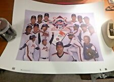 New York Mets 1986 World Series Lithograph