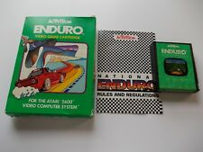 ENDURO by ACTIVISION  ATARI 2600/7800 BOXED COMPLETE  (TESTED AND WORKING)