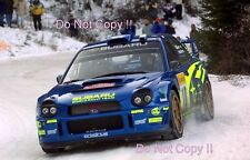 Tommi Makinen Subaru Impreza WRC2001 Winner Monte Carlo Rally 2002 Photograph 2