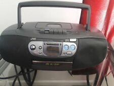 JVC CD Portable Stereo Boombox RC-QS1 CD Player AM/FM Cassette Tape