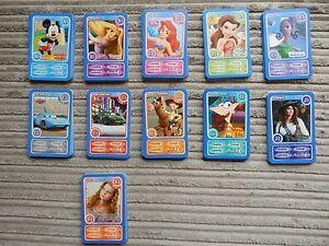 "Morrisons/Disneyland Paris Trading/Trump Cards ""Magical Moments Festival"" (2011)"