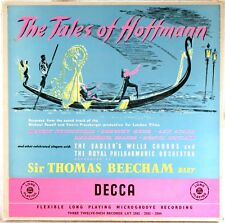 3 LP BOX DECCA ORANGE/GOLD UK Offenbach TALES OF HOFFMANN Beecham LXT-2582-3-4