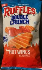 NEW RUFFLES DOUBLE CRUNCH HOT WINGS FLAVORED POTATO CHIPS 7 3/4 OZ BAG BUY IT
