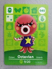 #045 Octavian Series 1 Mint & Never Scanned Animal Crossing Amiibo Card