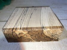175x175x58mm LOT 88 Spalted Beech WOODTURNING FIGURED TIMBER BLANK