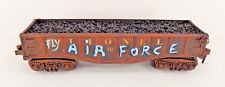 O SCALE LIONEL 1002 GONDOLA POST WAR CUSTOM LOAD COLLECTIBLE GRAFITTI GIFT
