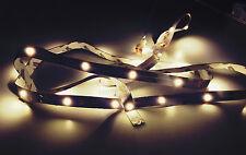 LED Leiste Strip Streifen 1m mit 30 LED's Lichterkette Lichtleiste Batterie