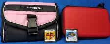 Super Mario 64 DS (Nintendo DS, 2004) vs Donkey Kong Mini Land Mayhem + 2 CASES