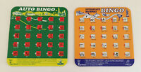 2 Regal Auto Highway Bingo Game Cards Car Travel Road Trip Board Game Toy