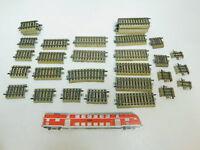 BL831-1# 34x Märklin H0/AC Ausgleichsstück: 5107, 3601,5108 etc. M-Gleis