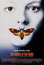THE SILENCE OF THE LAMBS (1991) ORIGINAL MOVIE POSTER  -  ROLLED