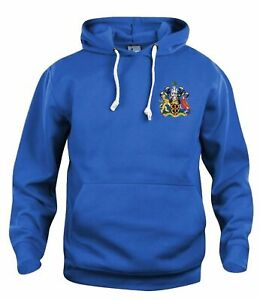 Wigan Athletic Retro Football Hoodie Embroidered Crest S-XXXL Free UK Delivery