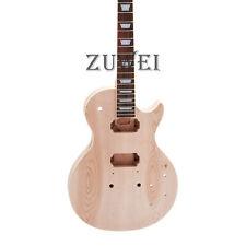 Electric Guitar Kit ABR Bridge Alnico Pickups 2pcs Maple Top 1pc Neck &Body